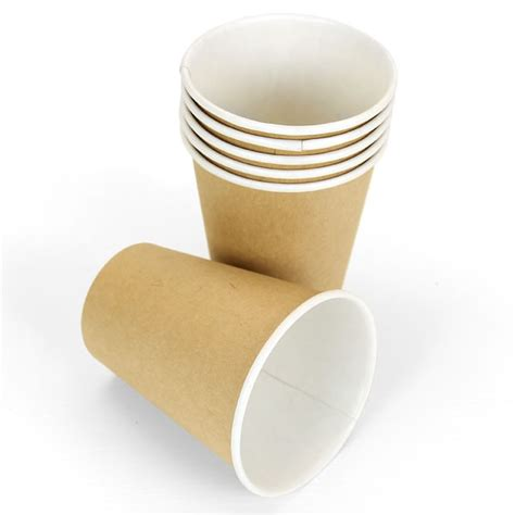 Brown Kraft Paper Cups   8oz   Pipii