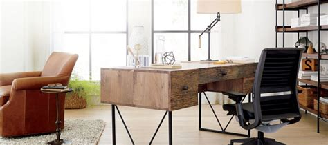 crate and barrel office desk executive office furniture and your work style modern