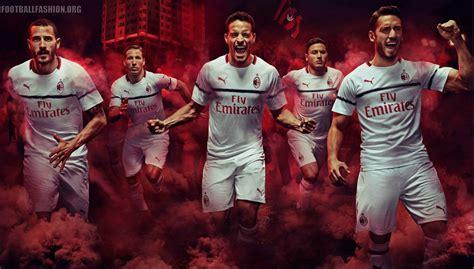 Ac Milan 19 ac milan 2018 19 away kit football fashion org