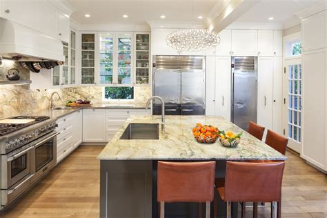 quartzite countertops kitchen traditional with chefs