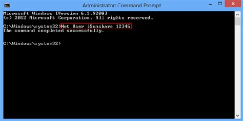 windows reset password command line password recovery ways tips how to reset admin password
