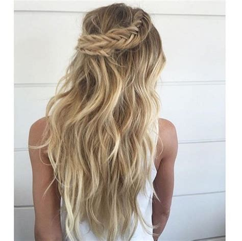 Wedding Hairstyles For Hair Boho by Bohemian Wedding Hair Braid Www Imgkid The Image