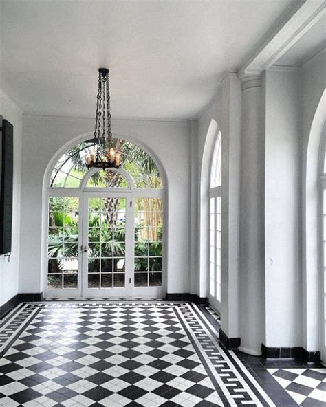 Black And White Checkered Bathroom Floor by Best 25 Checkerboard Floor Ideas On Checkered