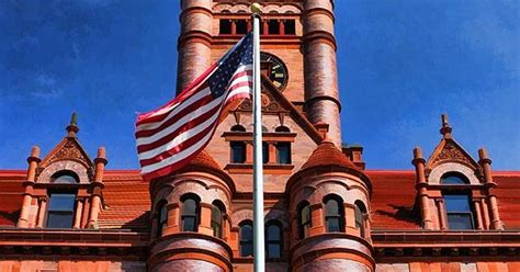 Circuit Court Of Dupage County Search Wheaton Dupage County Courthouse Flag Operating