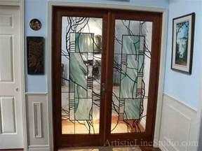 stained glass shower doors advantages and disadvantages of a glass panel interior