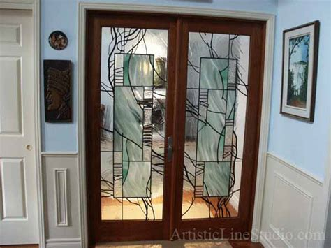 Leaded Glass Interior Doors Stained Glass Interior Doors 187 Design And Ideas