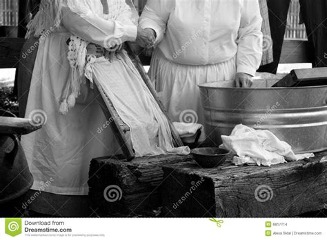 Wash Clothes In Bathtub by Doing The Wash Stock Images Image 6817714
