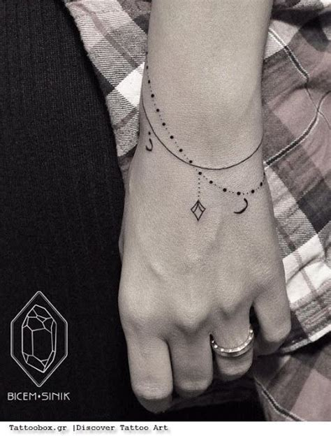 wrist chain tattoo 25 best ideas about ankle tattoos for on