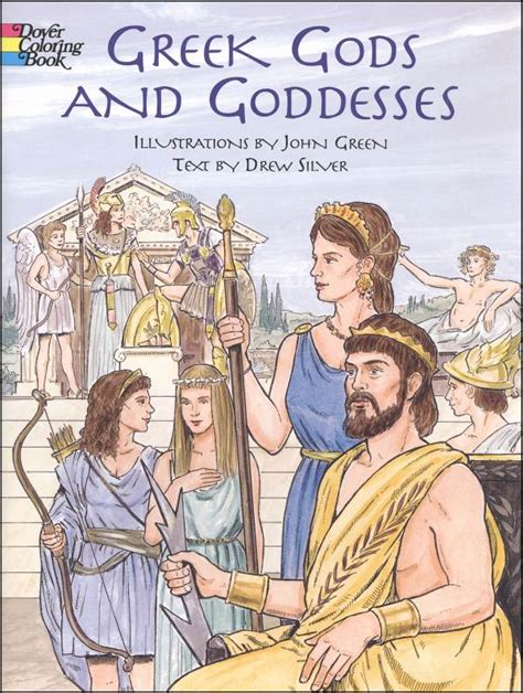 greek myths gods and goddesses greek mythology book for greek gods