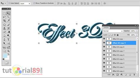 membuat tulisan hias online cara mudah membuat tulisan 3d di photoshop tutorial89