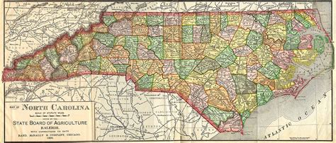 nc map hg6677 map of carolina cities