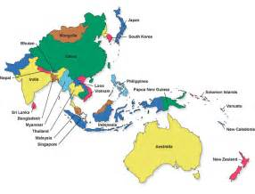 Map Of Asia Pacific by The Place Of Australia In The World Australia And It S