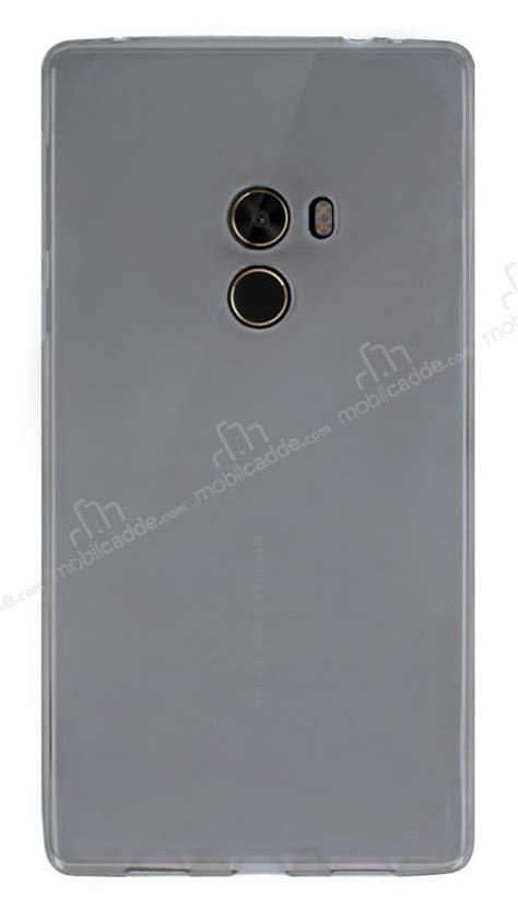 Anticrack Silikon Xiaomi Mi Mix xiaomi mi mix ultra 莢nce 蝙effaf siyah silikon k莖l莖f