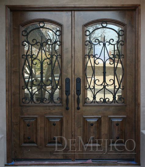 Wrought Iron Exterior Door Front Doors Creative Ideas April 2015