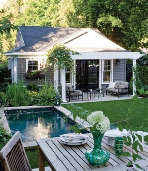 cottages with pools interesting ways to design your backyard flats backyard cottage and backyards