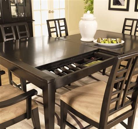 dining room tables with storage secret compartment furniture dining room table stashvault