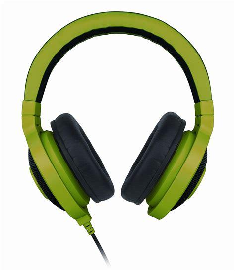 Headphone Razer Kraken razer unveils kraken pro gaming headset and kraken gaming headphones custom pc review