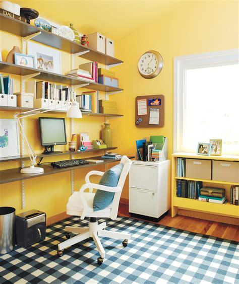 organizing your home office 21 ideas for an organized home office real simple