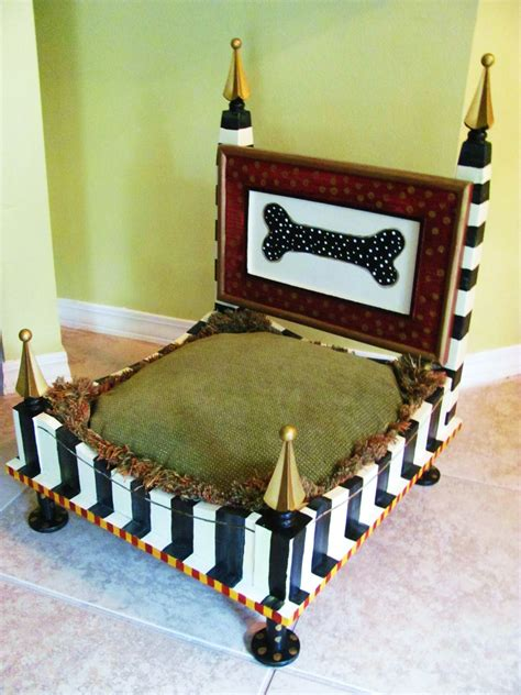 end table dog bed dog bed from an end table black and white stripes lucy