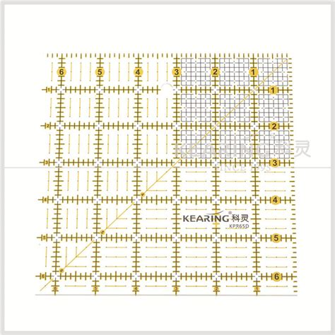 printable quilting ruler sew handicraft clear acrylic patchwork quilting ruler with