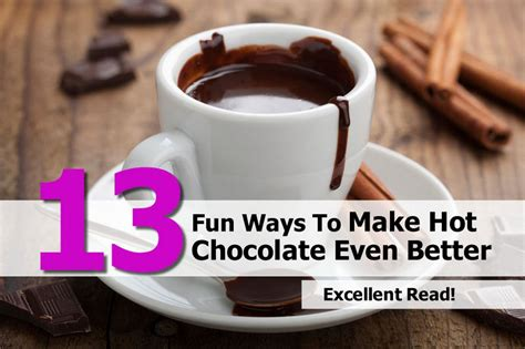 make it even better 13 ways to make chocolate even better
