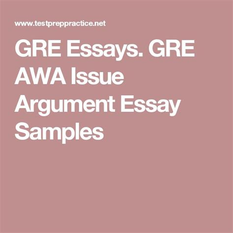 Gre Issue Essays Solved by 25 Best Ideas About Sle Essay On Essay