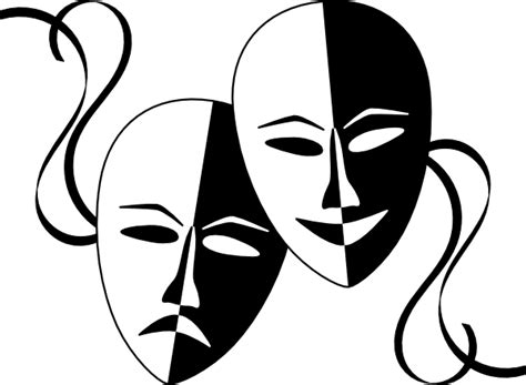 black and white drama free cliparts drama free download clip art free clip