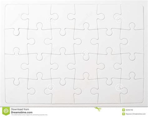 printable jigsaw paper puzzle royalty free stock image image 32250796