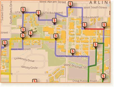 university of texas at arlington cus map parking and transportation services the university of texas at arlington