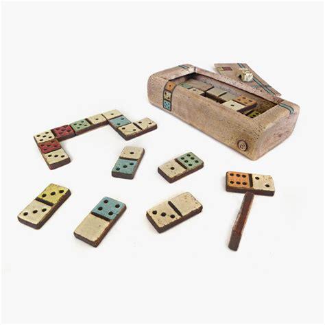 Handmade Dominoes - antique strategy dominoes handmade ceramic