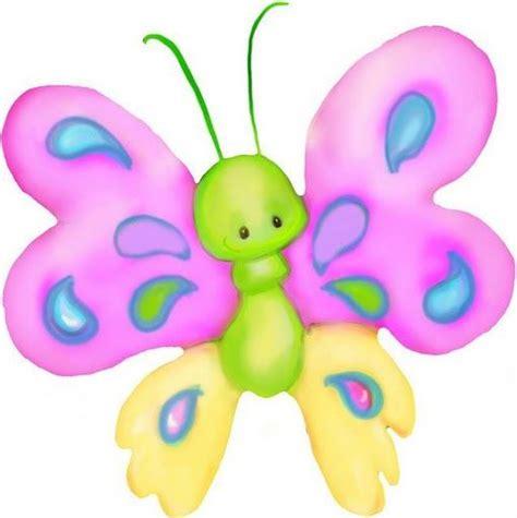 imagenes tiernas infantiles dibujos coloreados mariposas para imprimir imagenes y