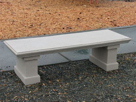 cement outdoor benches how to build a concrete table for beginners bench