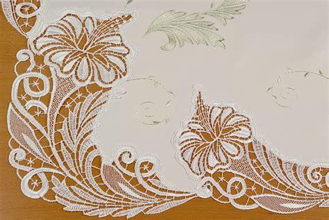 tischdecken für ovale tische tischdecken rund oval plauener spitze g 252 nstig online