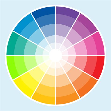 color wheel color schemes complementary colors design of the picture book
