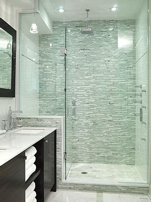 bathrooms with showers only the master bathroom