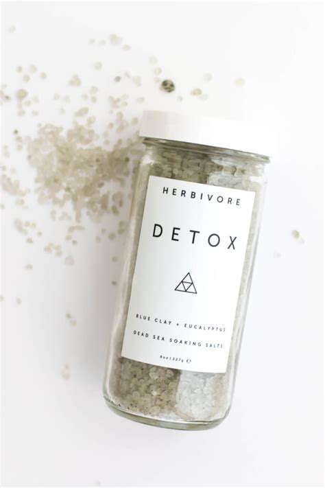 Sea Salt Detox Bath Recipe by Dead Sea Bath Salts Gathered Home