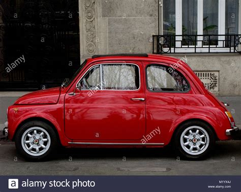 italian car fiat fiat 500 classic italian car stockfotos fiat 500 classic