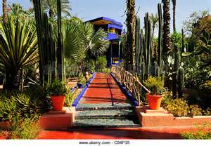jardin majorelle stock photos jardin majorelle stock