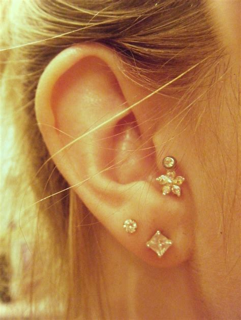 the 17 best images about tragus jewelry on