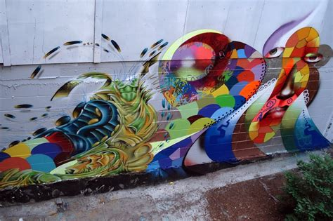 honeybee lane graffiti style art