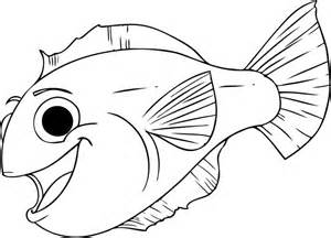 flounder coloring pages free coloring pages of flounder fish
