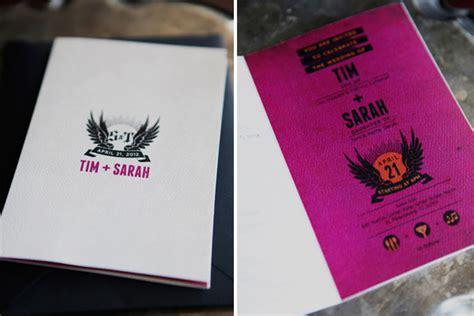 rock wedding invitations tim s rock n roll wedding invites invitation crush