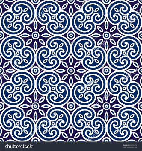 dekor muster decorative geometric seamless ornament tile of fabric