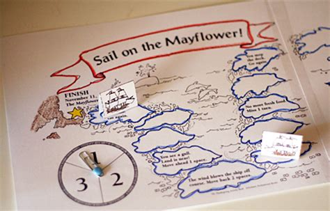 printable history board games mayflower pilgrim resources let s explore
