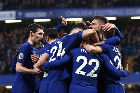 chelsea result 2017 18 chelsea 2 1 crystal palace result premier league 2017 18