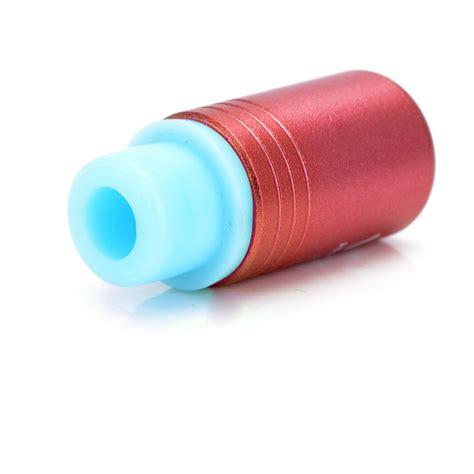 Sale Silicone Rubber Drip Tip Vaporizer Multi Color 24 4mm silicone aluminum vip 510 drip tip
