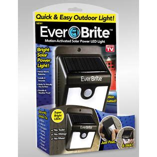 As Seen On Tv Lights by As Seen On Tv Brite Motion Activated Solar Powered