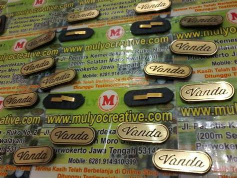 Harga Tas Merk Quincy Label pesan label merk tas logam pesan name tag lencana pin