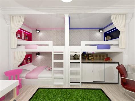 Bedroom Design For Kid 30 Three Children Bedroom Design Ideas
