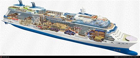 3ds Oasis By Viagames Station cruise ship solstice cut away by psigen 3d cgsociety